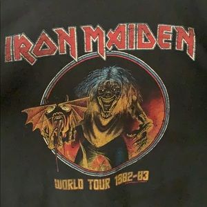 Iron Maiden World Tour 1982-1983 T-Shirt